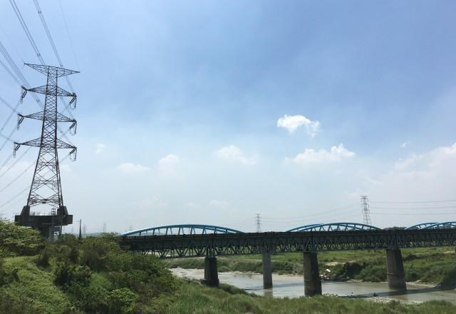 嘉南大圳官田溪渡槽